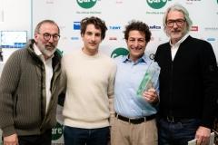 CAREs-Social-Responsibility-Award_Norbert-Niederkofler_Lorenzo-Bertelli_Giovanni-Cuocci_Paolo-Ferretti_